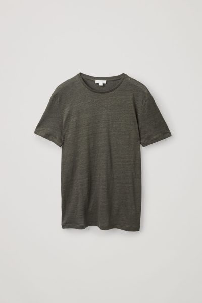 COS default image 5 of  in 쇼트 슬리브 리넨 티셔츠
