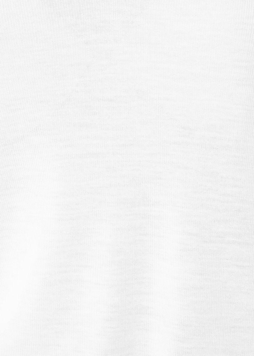 앤아더스토리즈 립 브이넥 탑의 오프 화이트컬러 Detail입니다.