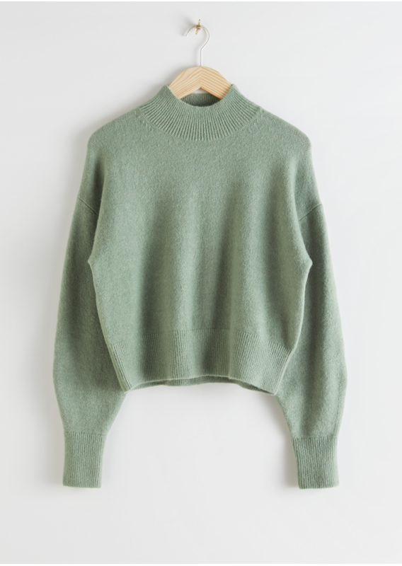 &OS image 10 of  in 모크 넥 스웨터