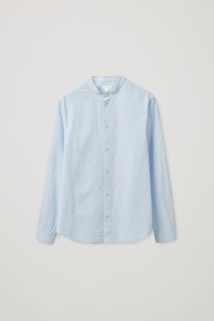 COS default image 3 of  in 레귤러 핏 칼라리스 셔츠