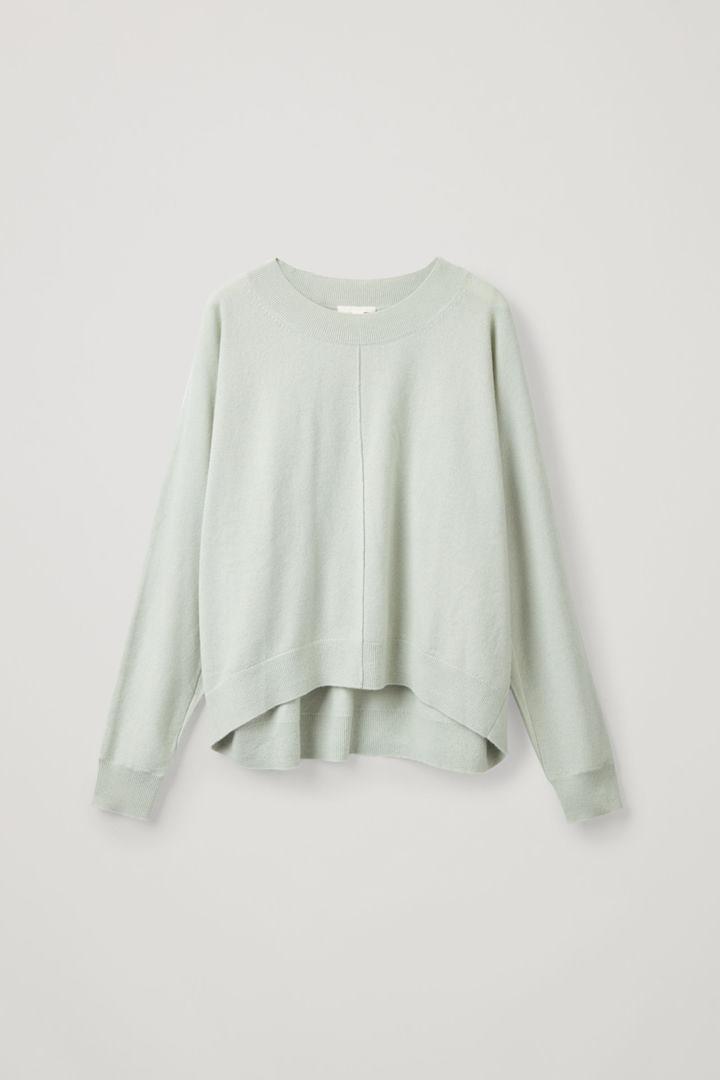 COS default image 6 of 그린 in 릴랙스드 캐시미어 스웨터