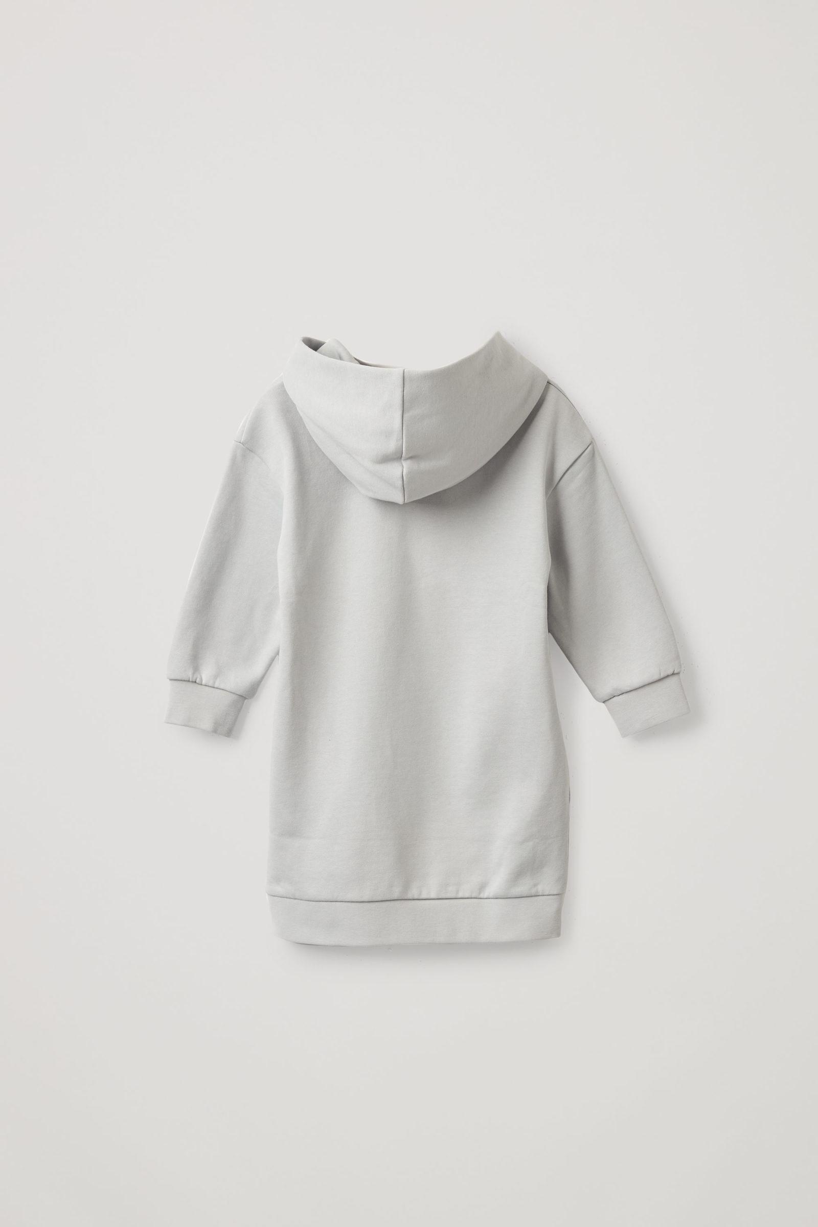 COS 프린티드 코튼 후드 드레스의 멀티컬러컬러 Product입니다.