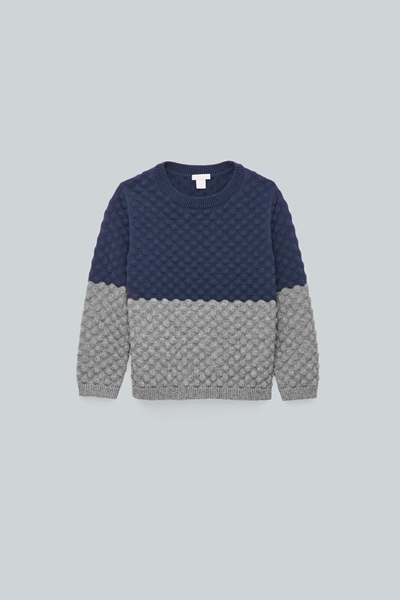COS hover image 11 of 블루 in 바블 스티치 니트 스웨터
