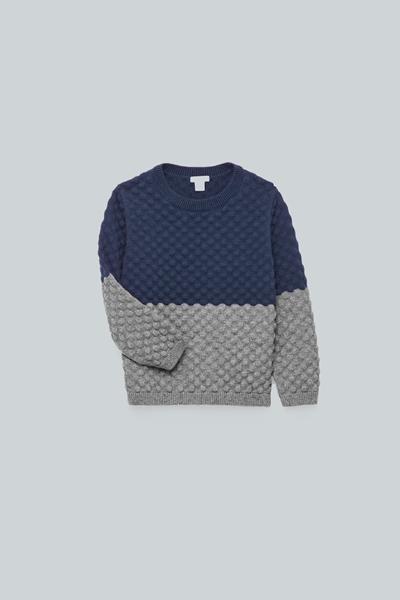 COS default image 11 of 블루 in 바블 스티치 니트 스웨터