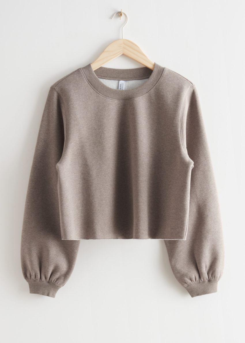 앤아더스토리즈 박시 저지 스웨터의 몰컬러 Product입니다.