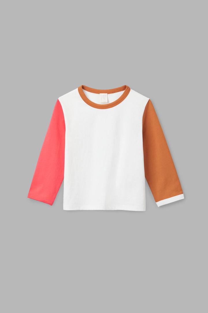 COS default image 5 of 화이트 in 엘보우 패치 롱 슬리브 티셔츠