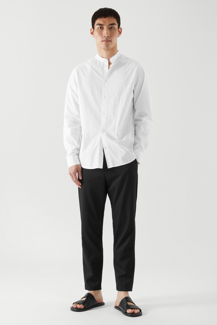 COS default image 4 of  in 레귤러 핏 칼라리스 셔츠
