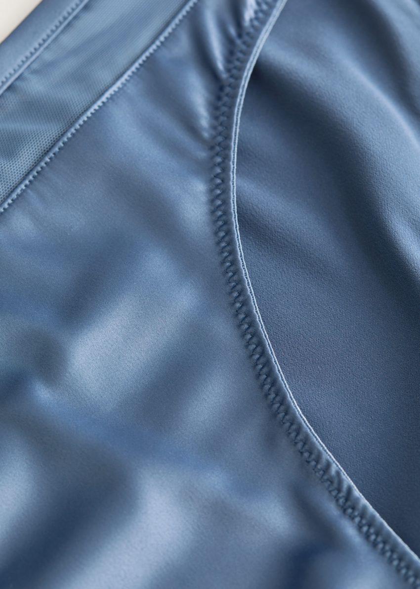 앤아더스토리즈 버드 엠브로이더리 브리프의 블루컬러 Product입니다.