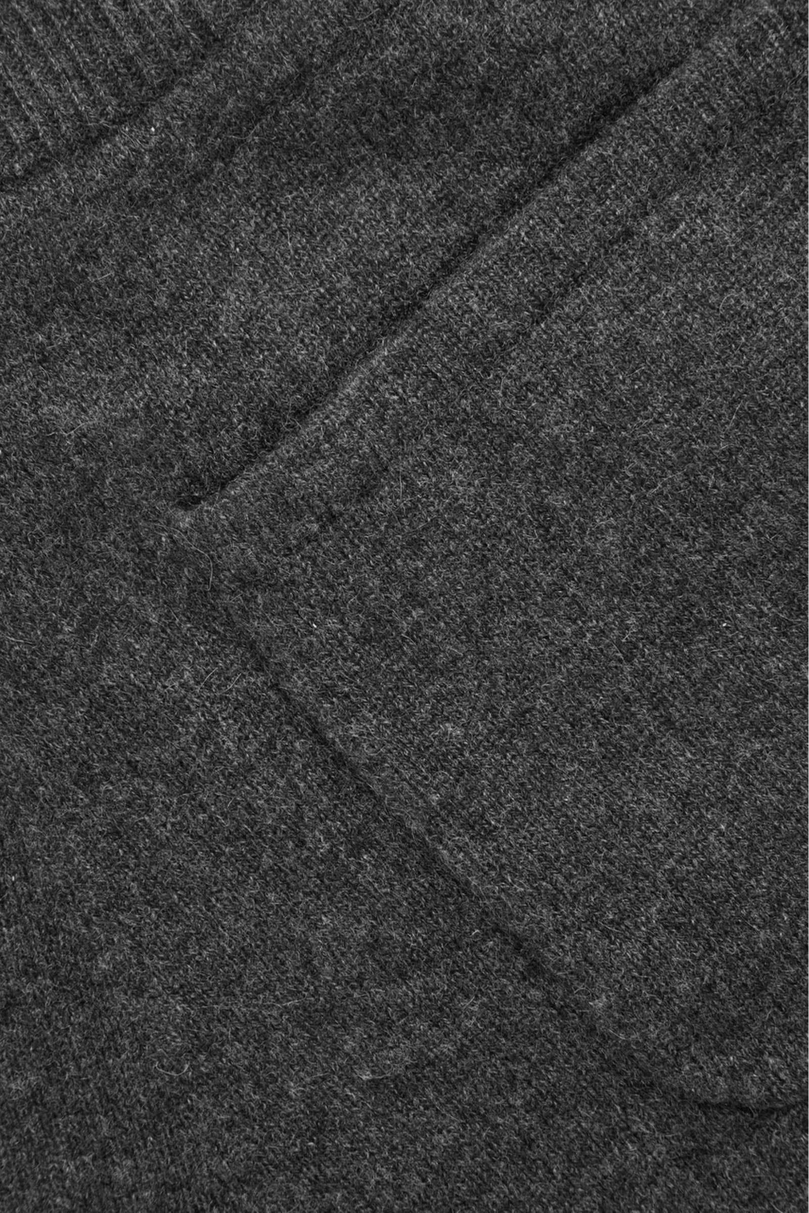 COS 릴랙스드 캐시미어 트라우저의 다크 그레이 멜란지컬러 Product입니다.