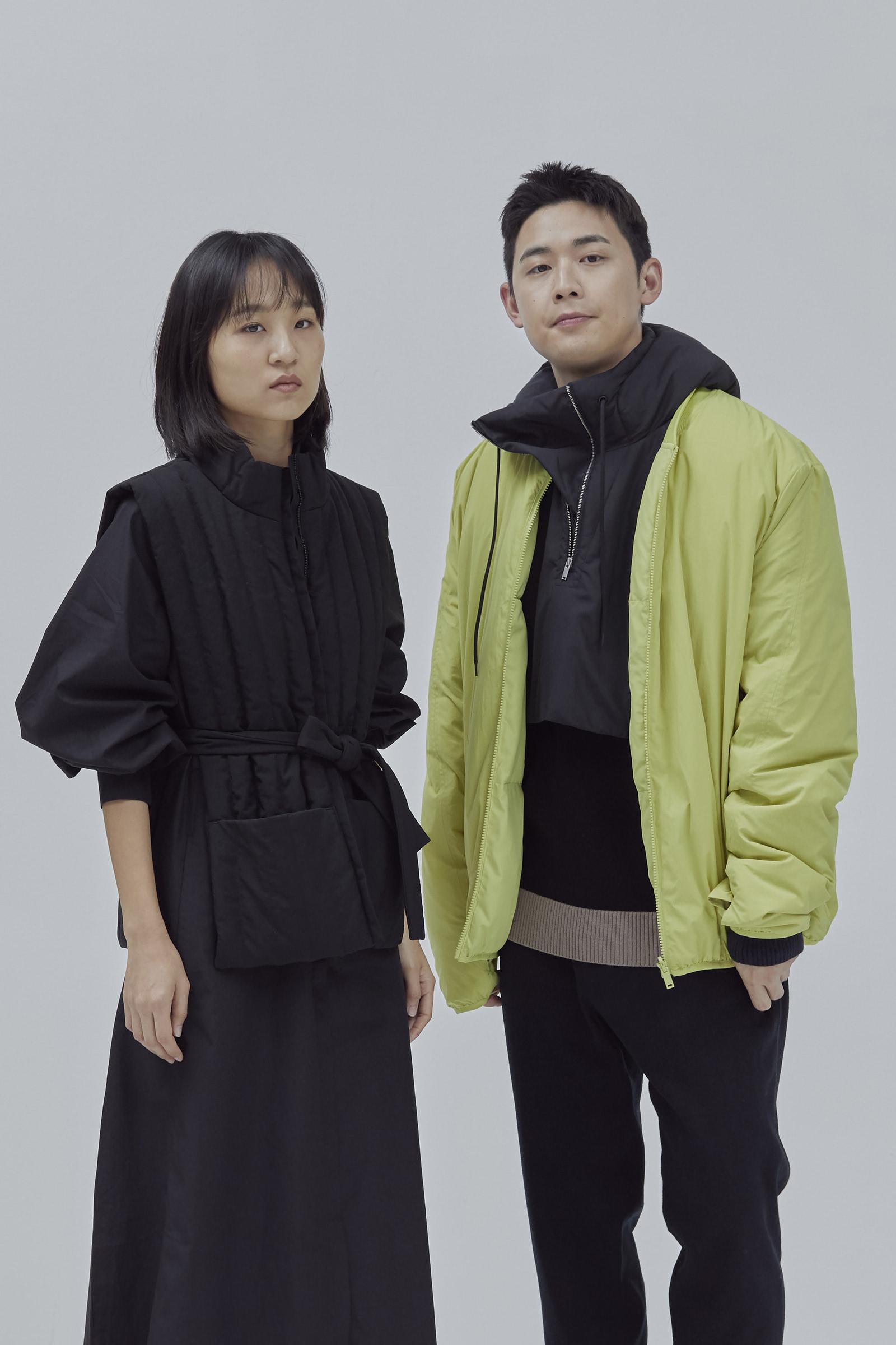 COS 컬러 블록 울 코튼 스웨터의 브라운 / 네이비 / 블랙컬러 Environmental입니다.