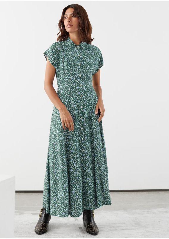 &OS image 30 of  in 릴렉스드 미디 셔츠 드레스