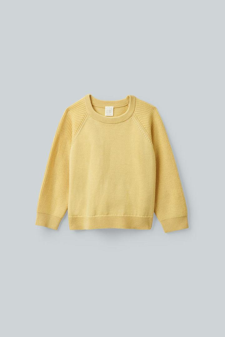 COS default image 7 of 옐로우 in 니티드 메리노 스웨터