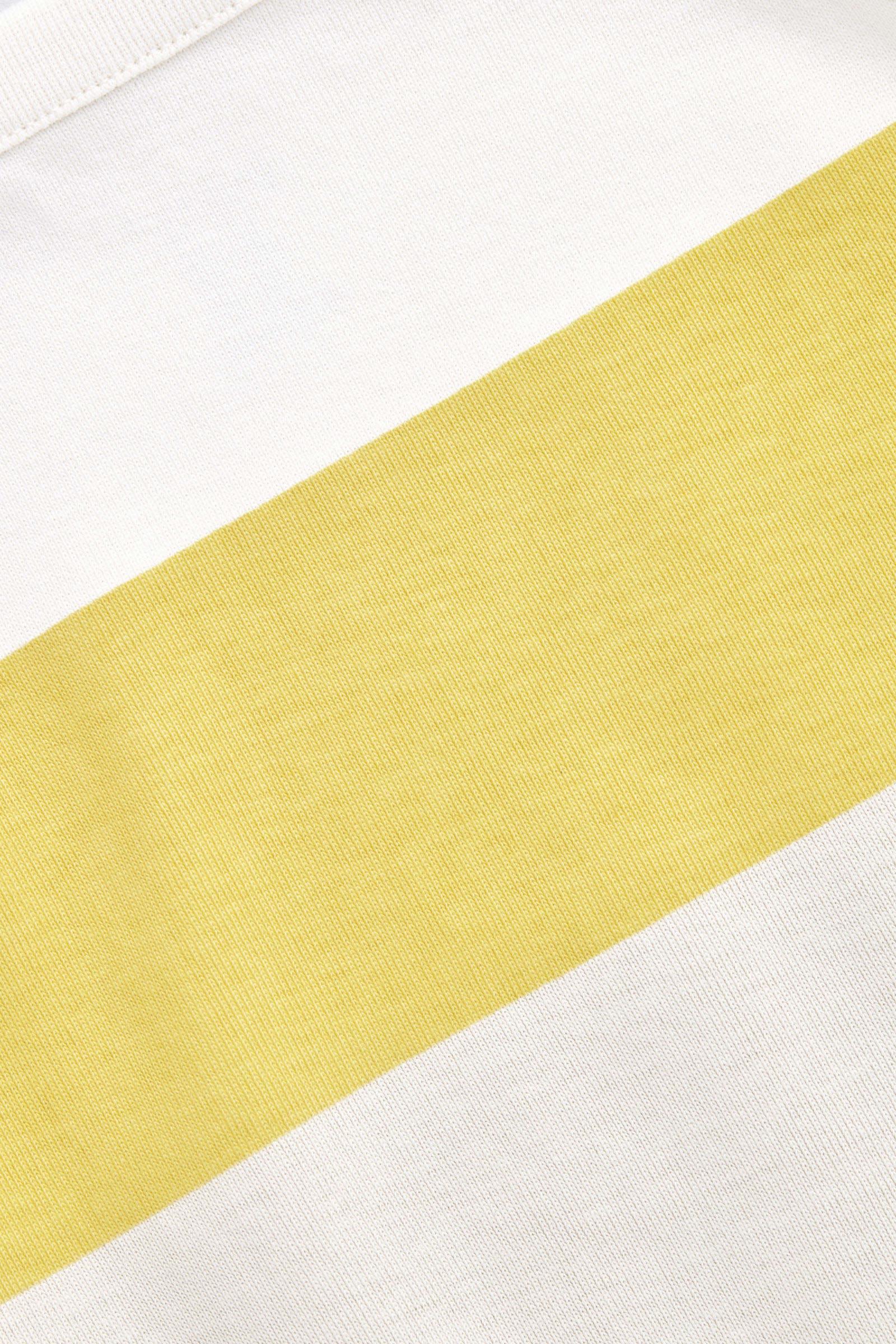 COS 컬러 블록 코튼 베이비 그로우의 크림 / 옐로우 / 베이지컬러 상품컷입니다.