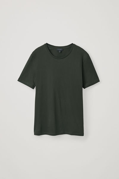 COS default image 6 of 그린 in 라운드 넥 티셔츠