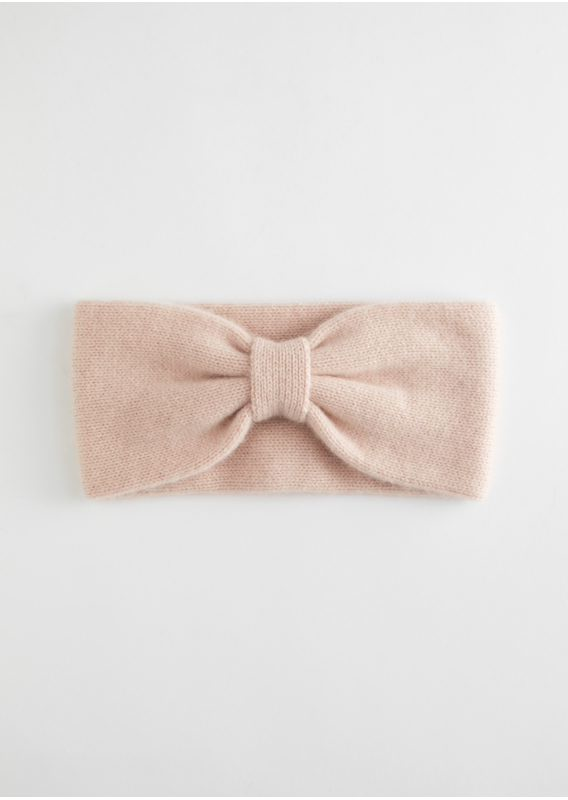 &OS image 9 of 핑크 in 캐시미어 니트 헤어밴드